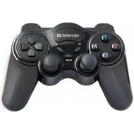 Геймпад Defender Game Master Wireless (беспроводной, USB, 10 кнопок, 2 джойстика, 64257)