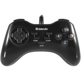 Геймпад Defender Game Master G2 (проводной, USB3.0, 13 кнопок, 2 джойстика, 64258)