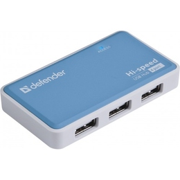 USB-хаб Defender Quadro Power (4 USB порта, 83503)