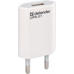 Зарядное устройство Defender UPA-01 (USB, 1A)