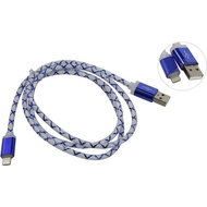 Кабель Defender ACH03-03LT LED USB-Lightning (1м) Blue