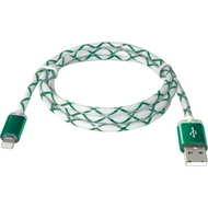 Кабель Defender ACH03-03LT LED USB-Lightning (1м) Green
