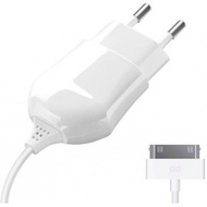 Зарядное устройство Deppa 23124 White (сетевое, USB, 1A, кабель Apple 30-pin)