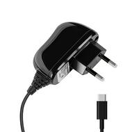 Зарядное устройство Deppa 23150 Black (сетевое, 2,1A, кабель USB-C)