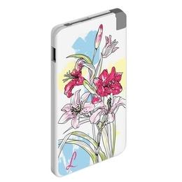 Портативный аккумулятор Deppa 301056 Art Lily (USB-выход, 5000mAh, 2A)