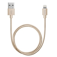 Кабель Deppa 72188 USB2.0-Lightning MFI Gold (1,2м)