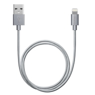 Кабель Deppa 72188 USB2.0-Lightning MFI Gray (1,2м)