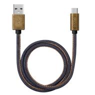 Кабель Deppa 72270 USB2.0-USB-C Jeans Blue (1,2м)
