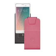 """Чехол Deppa Flip Slide 81052 Pink (для смартфонов 4,3"""" - 5,5"""")"""