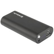 Портативный аккумулятор Defender 83632 Black (USB-выход, 5000mAh, 1A)