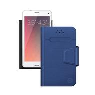 "Чехол Deppa Wallet Fold 87004 Blue (для смартфонов 3,5"" - 4,3"")"