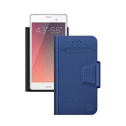"Чехол Deppa Wallet Fold 87009 Blue (для смартфонов 4,3"" - 5,5"")"