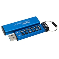 Флешка USB 3.0 Kingston Data Traveler 2000 256-AES 32Гб