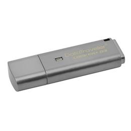 Флешка USB 3.0 Kingston Data Traveler Locker Plus G3 8 GB