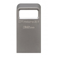 Флешка USB 3.0 Kingston Data Traveler Micro 3.1 32Гб Silver