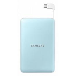 Портативный аккумулятор Samsung EB-PG850B Light Blue (microUSB/USB-выход, 8.4mA)