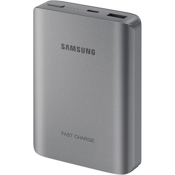 Портативный аккумулятор Samsung EB-PN930C Silver (microUSB/USB-выход, 10200mAh, 1.5A)