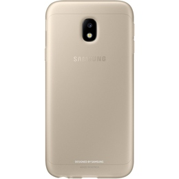 Чехол Samsung Jelly Cover EF-AJ330T Gold (для Samsung SM-J330 J3 2017)