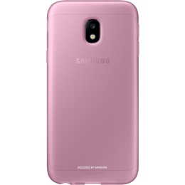 Чехол Samsung Jelly Cover EF-AJ330T Pink (для Samsung SM-J330 J3 2017)