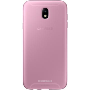 Чехол Samsung Jelly Cover EF-AJ730T Pink (для Samsung SM-J730 J7 2017)