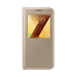 Чехол Samsung S-View Cover EF-CA520P Gold (для Samsung SM-A520 Galaxy A5 2017)