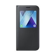 Чехол Samsung S-View Cover EF-CA720P Black (для Samsung SM-A720 Galaxy A7 2017)