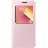 Чехол Samsung S-View Cover EF-CA720P Pink (для Samsung SM-A720 Galaxy A7 2017)