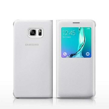 Чехол Samsung S-View Cover EF-CG928P White (для Samsung SM-G928F Galaxy S6 Edge Plus)