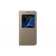 Чехол Samsung S-View EF-CG930P Gold (для Samsung SM-G930F Galaxy S7)
