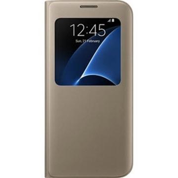 Чехол Samsung S-View EF-CG935P Gold (для Samsung SM-G935F Galaxy S7 Edge)
