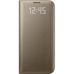 Чехол Samsung LED View EF-NG935P Gold (для Samsung SM-G935F Galaxy S7 Edge)