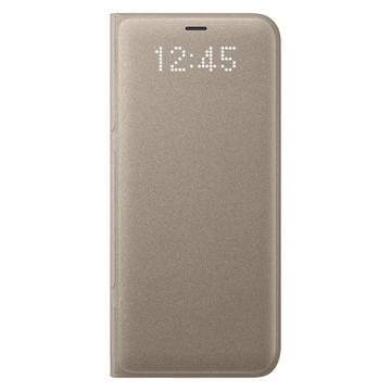Чехол Samsung LED View EF-NG950P Gold (для Samsung SM-G950F Galaxy S8)