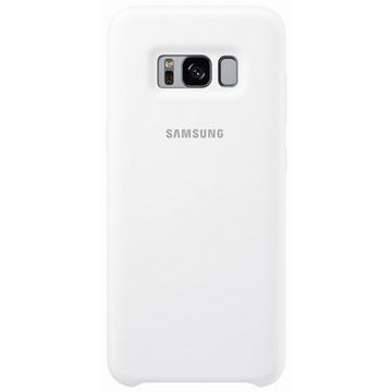 Чехол Samsung Silicone Cover EF-PG950T White (для Samsung SM-G950F Galaxy S8)