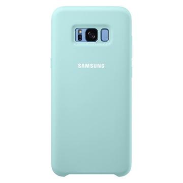 Чехол Samsung Silicone Cover EF-PG955T Blue (для Samsung SM-G950F Galaxy S8+)