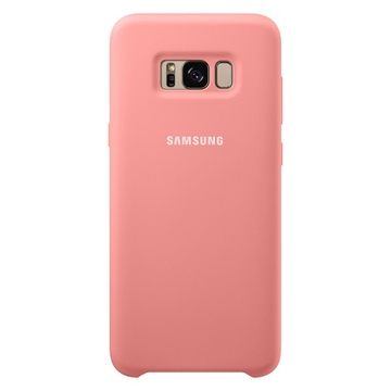 Чехол Samsung Silicone Cover EF-PG955T Pink (для Samsung SM-G950F Galaxy S8+)