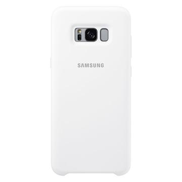 Чехол Samsung Silicone Cover EF-PG955T White (для Samsung SM-G950F Galaxy S8+)