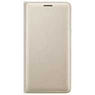 Чехол Samsung Flip Wallet EF-WJ320P Gold (для Samsung J320 J3 2016)