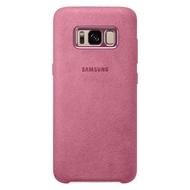 Чехол Samsung Alcantara Cover EF-XG950A Pink (для Samsung SM-G950F Galaxy S8)