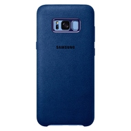 Чехол Samsung Alcantara Cover EF-XG955A Blue (для Samsung SM-G955F Galaxy S8+)