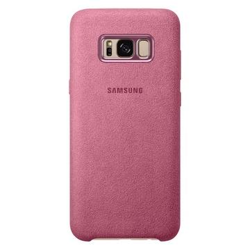 Чехол Samsung Alcantara Cover EF-XG955A Pink (для Samsung SM-G955F Galaxy S8+)