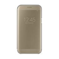 Чехол Samsung Clear View EF-ZA720C Gold (для Samsung SM-A720 Galaxy A7 2017)