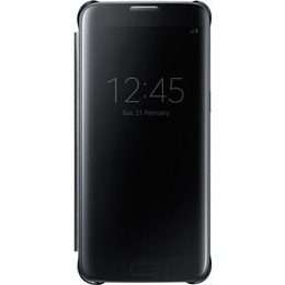 Чехол Samsung Clear View EF-ZG935C Black (для Samsung SM-G935F Galaxy S7 Edge)