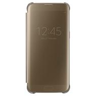 Чехол Samsung Clear View EF-ZG935C Gold (для Samsung SM-G935F Galaxy S7 Edge)