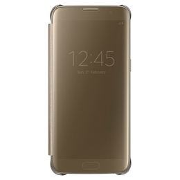 Чехол Samsung Clear View EF-ZG935C Gold (для Samsung SM-G935F Galaxy S7 Edge)