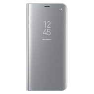 Чехол Samsung Clear View Standing EF-ZG955C Silver (для Samsung SM-G955F Galaxy S8+)