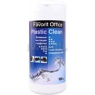 "Влажные салфетки Favorit Office ""Plastic Clean"" (для пластика,туба100 шт)"