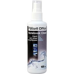 """Спрей Favorit Office """"Notebook Clean"""" (чистящее средство для ноутбуков,спрей с пневмораспылителем, 100мл)"""