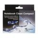 """Набор Favorit Office """"Notebook Clean Compact"""" (для ноутбуков, влажные и сухие, сашет 10+10шт)"""