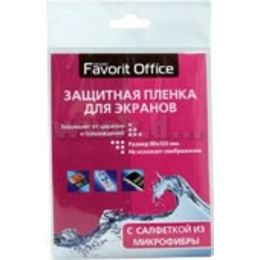 Защитная пленка Favorit Office (для экранов 90х120, с микрофиброй)