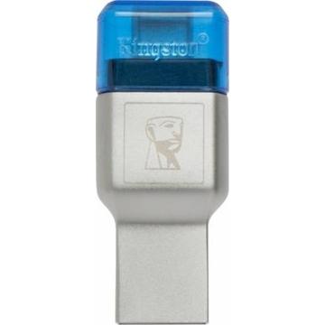 Ридер USB3.0 Kingston MobileLite 3C (USB 3.0/USB-C)